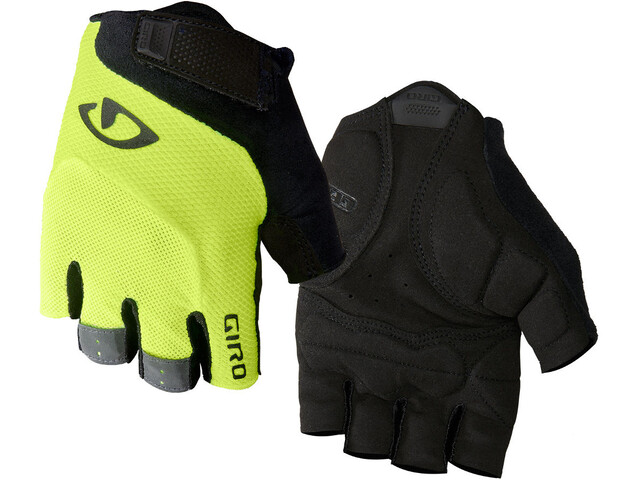 Giro Bravo Gel Handschuhe highlight yellow